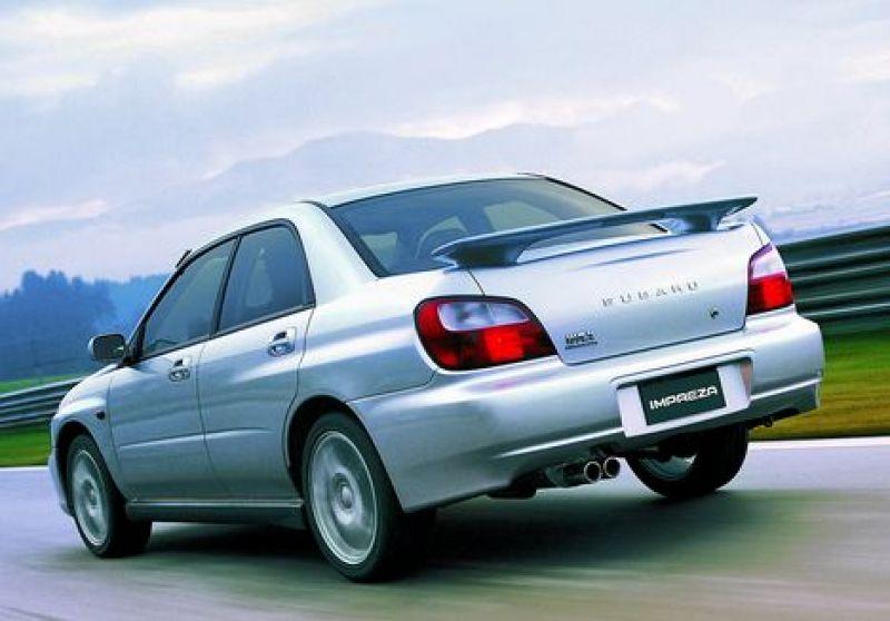 Subaru Impreza WRX 2002 отзыв вл…
